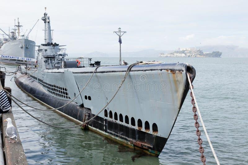 USS Pampanito image stock
