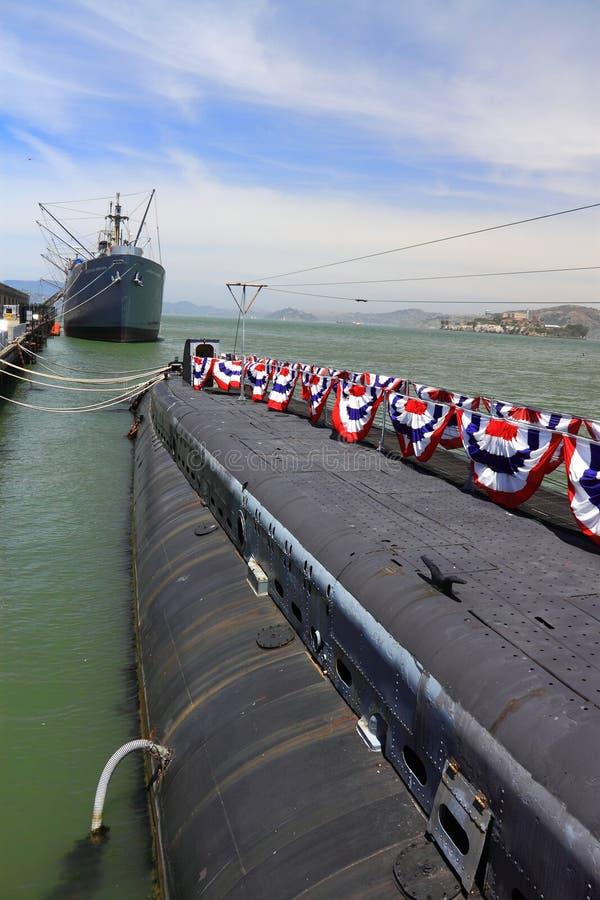 USS Pampanito Submarine San Francisco Editorial Photo