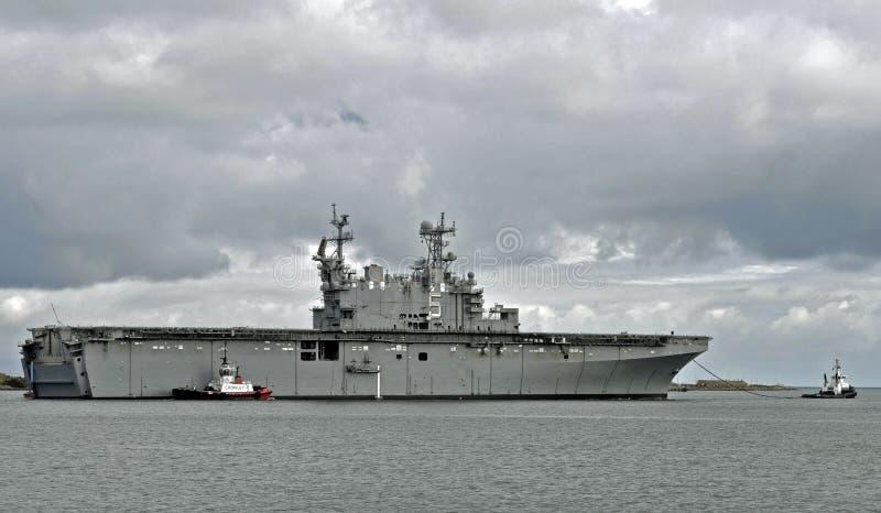 USS Peleliu (LHA-5) стоковое фото