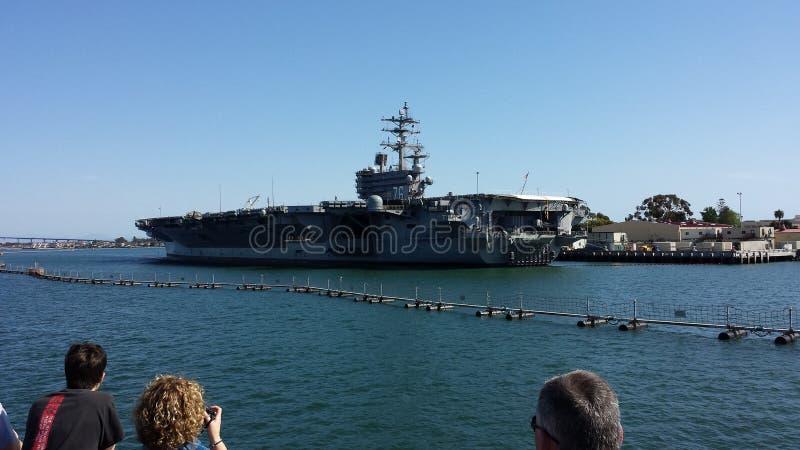 USS Ronald Regan στοκ εικόνες