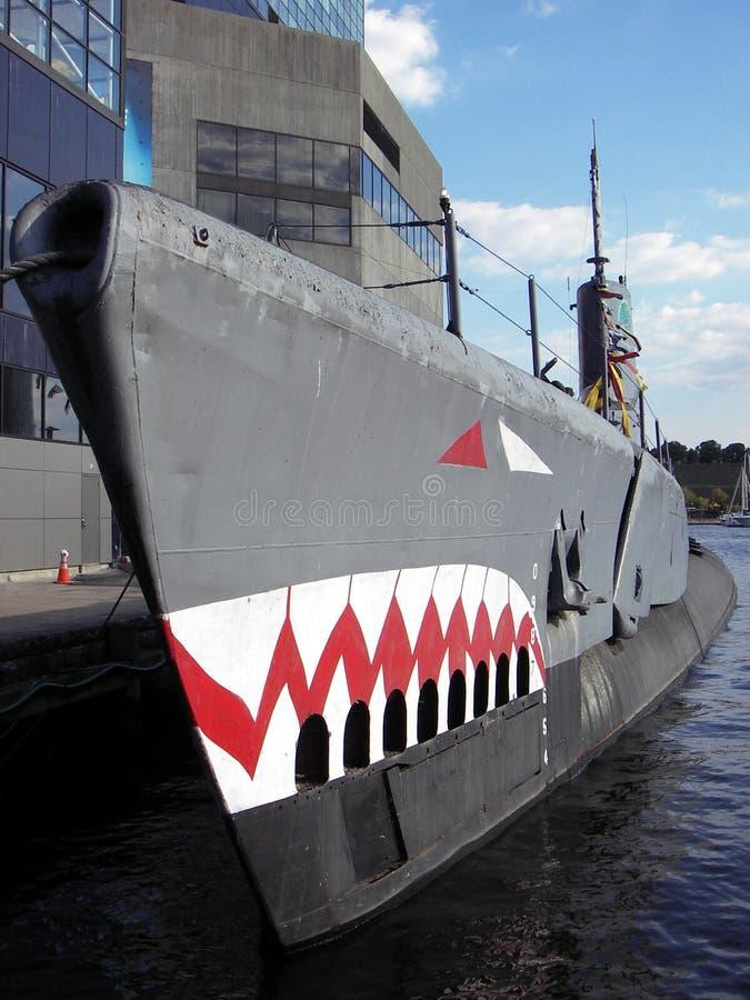 uss torsk подводной лодки стоковые изображения rf