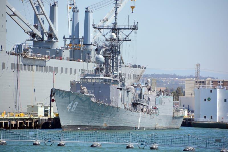 USS Vandegrift images libres de droits