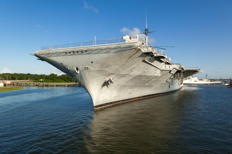 USS Yorktown imagens de stock