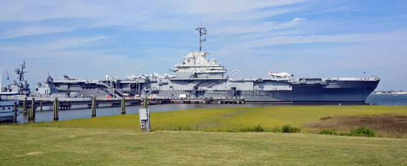 USS Yorktown fotografia de stock