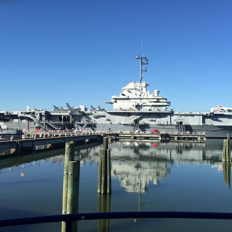 USS Yorktown zdjęcia stock