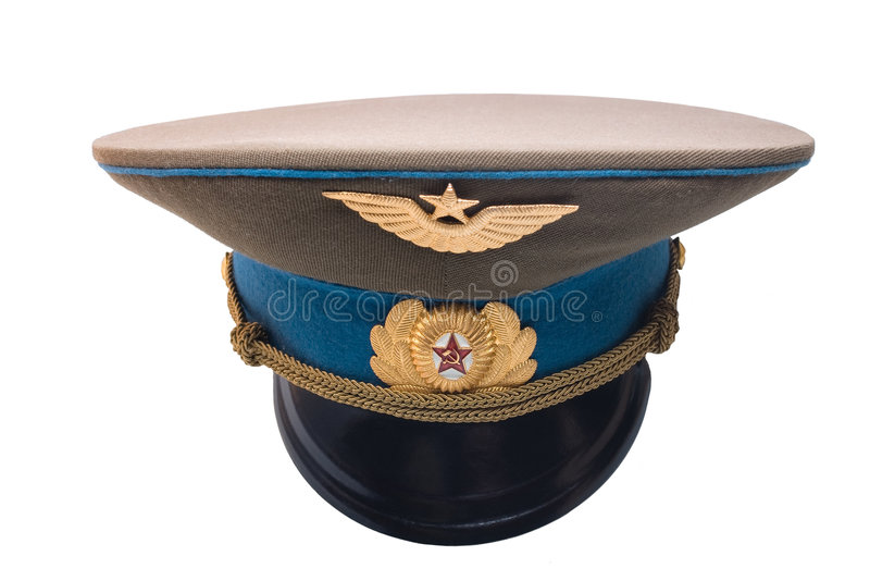 Download USSR army cap stock photo. Image of insignia, uniform - 8142226