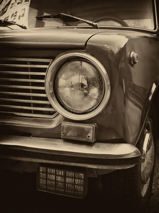 Download USSR car headlight stock image. Image of dirty, nostalgia - 15016467