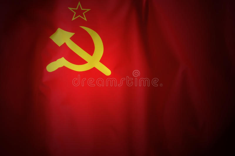 USSR Flag Royalty Free Stock Images