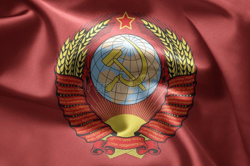 USSR flag stock photos