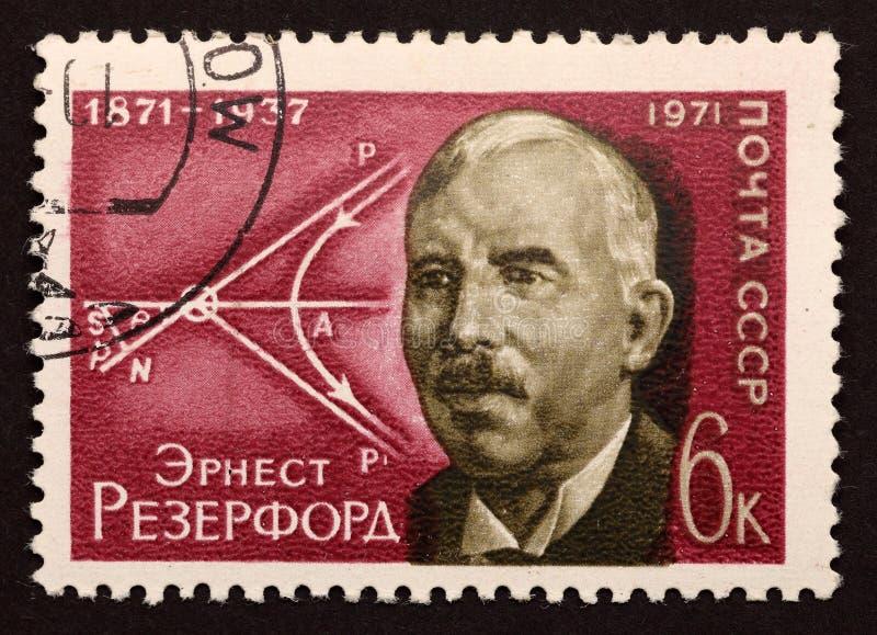 USSR postage stamp stock photo