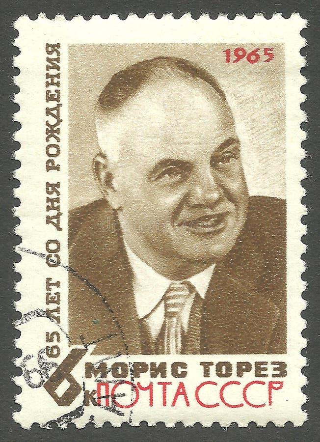 Maurice Thorez stock images