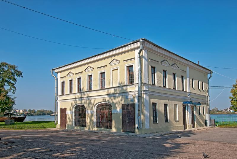 Diorama Museum of Alexander Nevsky and Izhora Land. Ust-Izhora. St Petersburg. Russia royalty free stock photo