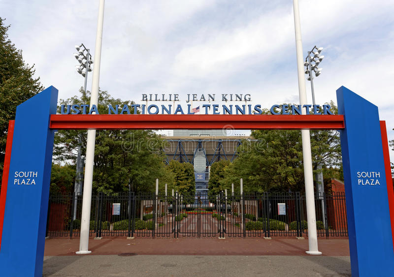 USTA Billie Jean King National Tennis Center fotos de stock royalty free