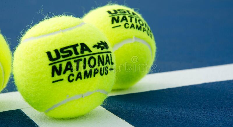 USTA National Campus Tennis Courts. United States Tennis Association National Campus. Located in Orlando Florida. ORLANDO, FL - USTA National Campus Tennis stock photo