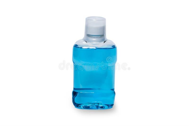 Usta przepłukania odizolowywająca butelka zdjęcia royalty free