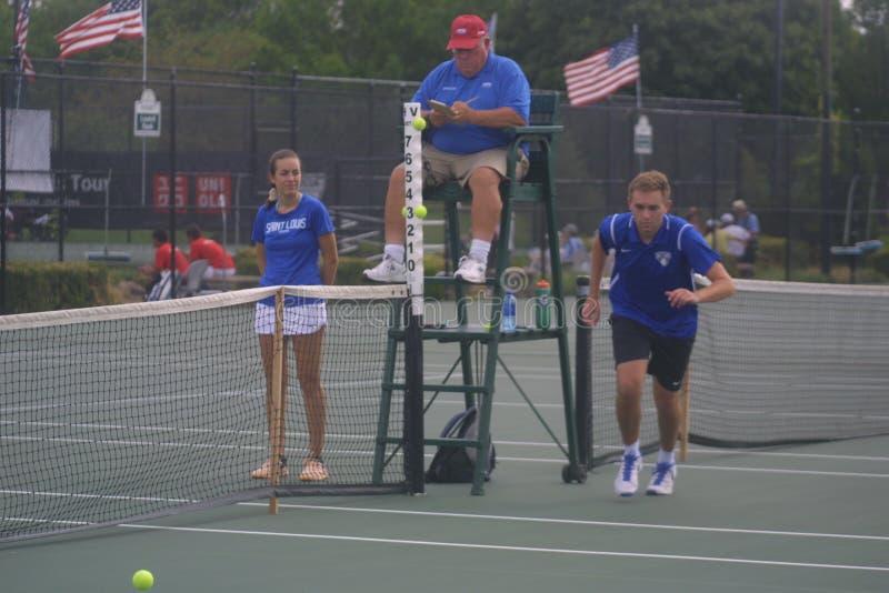 USTA-RULLSTOLMÄSTERSKAP 2018/Dwight Davis Tennis Center royaltyfri foto