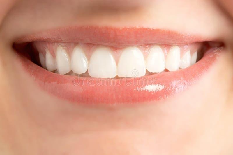 usta uśmiech fotografia stock
