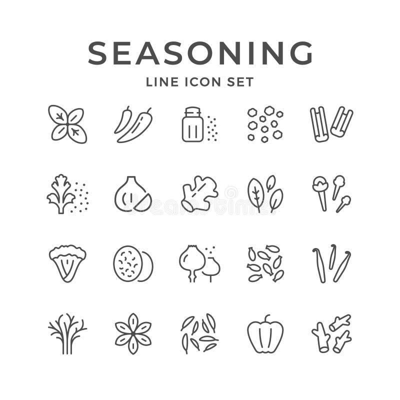 Ustalone kreskowe ikony podprawa ilustracja wektor