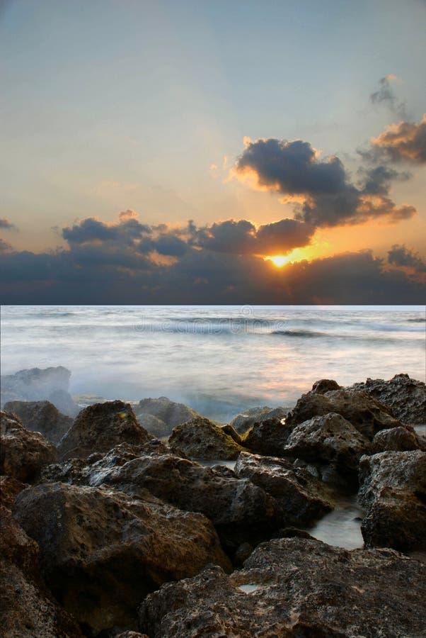 ustalony chwały słońce zdjęcie stock