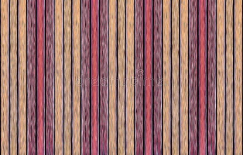 Ustalony deskowy beżowy Burgundy tła bazy projekta pionowo lampasów tła abstrakcjonistyczny symetryczny wzór zdjęcie royalty free