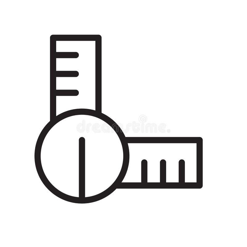 Ustalony Kwadratowy ikona wektor odizolowywający na białym tle, setu kwadrat ilustracji