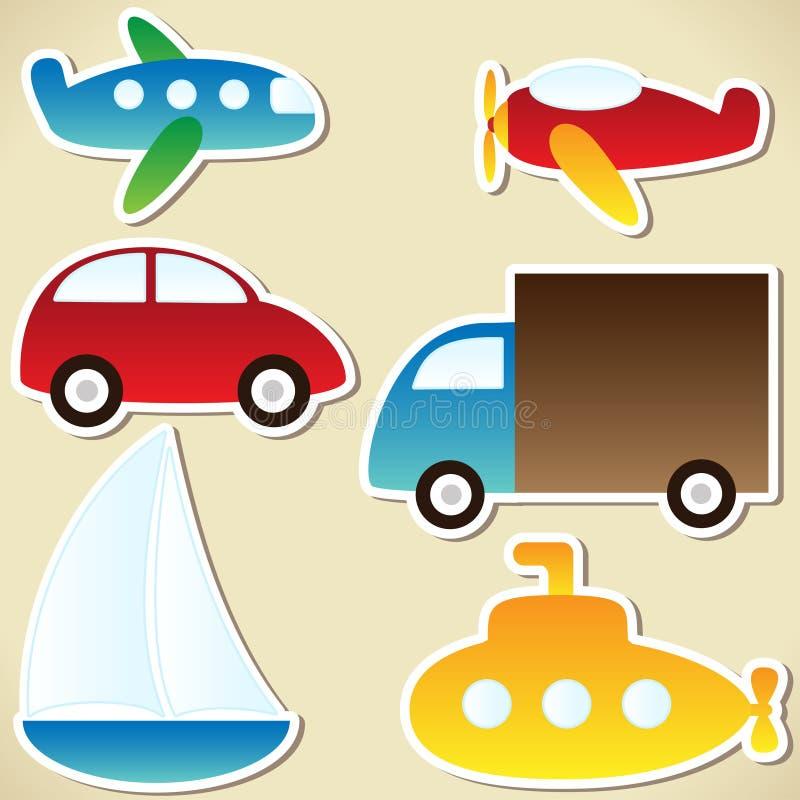 Download Ustalony transport ilustracja wektor. Obraz złożonej z powietrze - 24903543