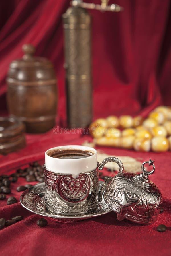ustaw tureckiego kawy obraz royalty free