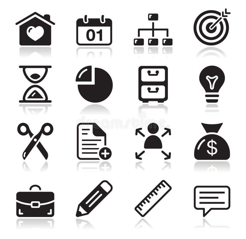 Ustawiać sieci internetowe ikony ilustracja wektor