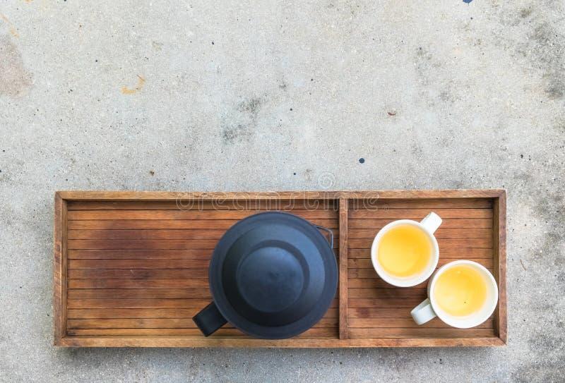 ustawia herbaty zdjęcia stock