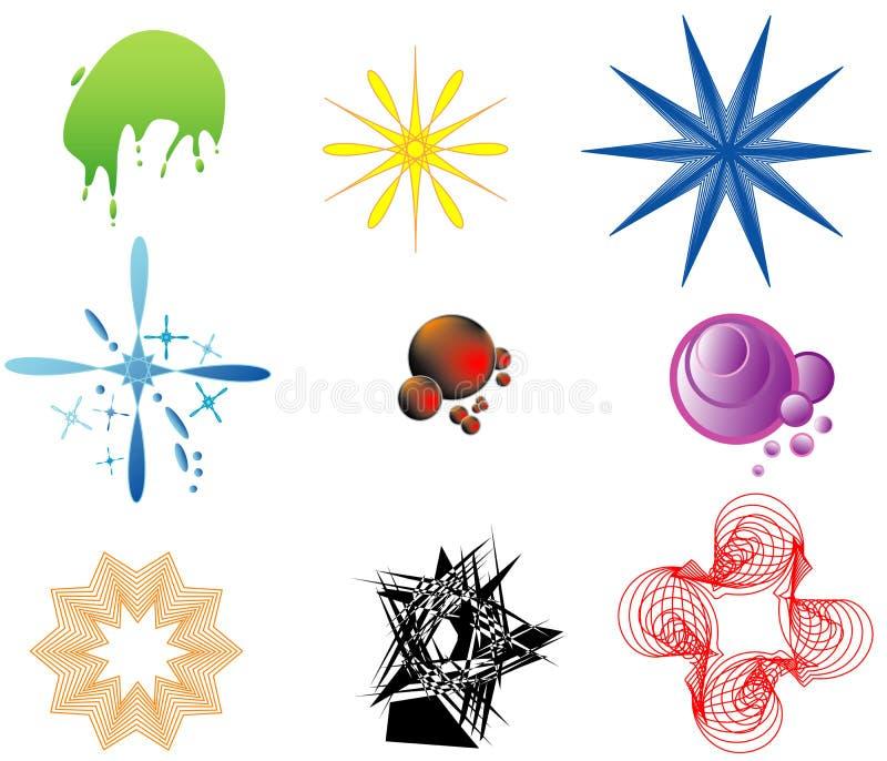 ustawia kształty ilustracji