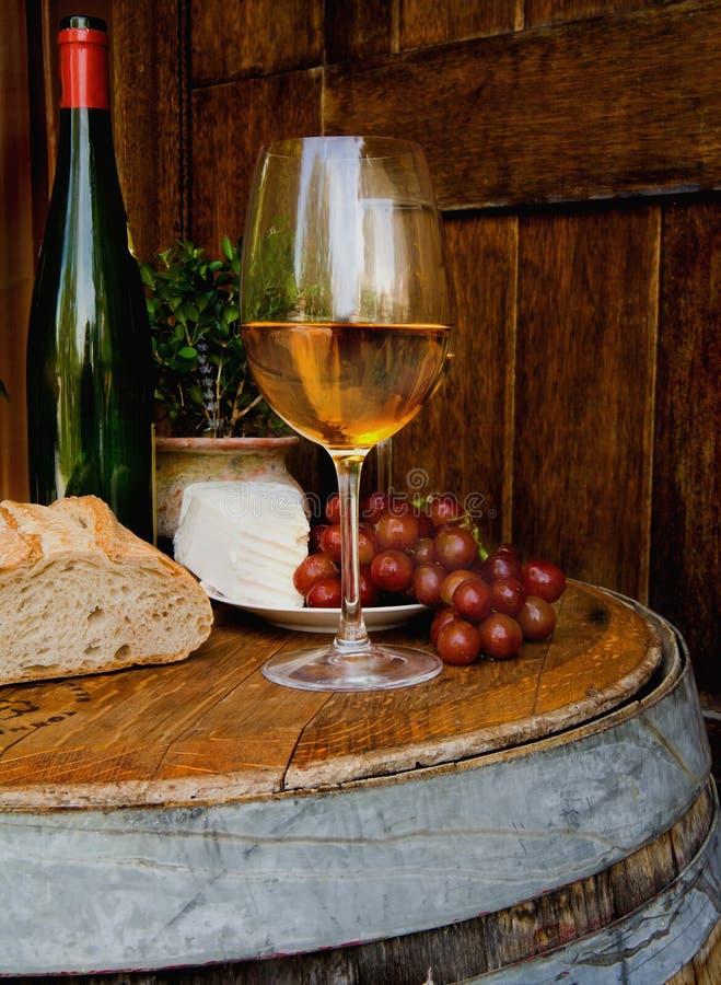 ustawienia wina Tuscan zdjęcia royalty free
