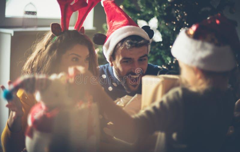 Usted era buenos padres este año, éste está para usted imagen de archivo libre de regalías