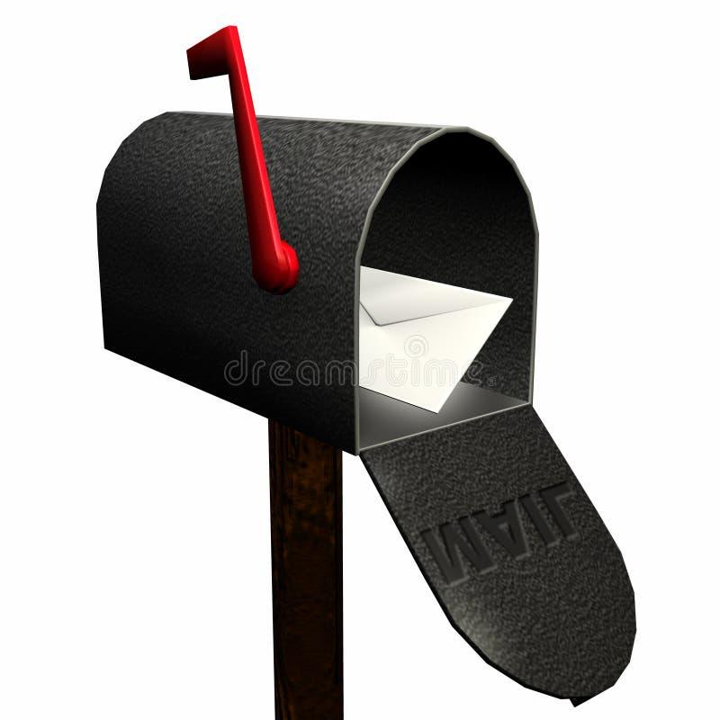 Usted tiene correo 1 stock de ilustración