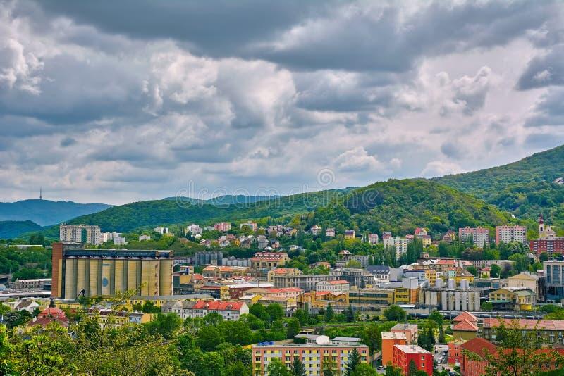 Usti nad Labem royaltyfri fotografi