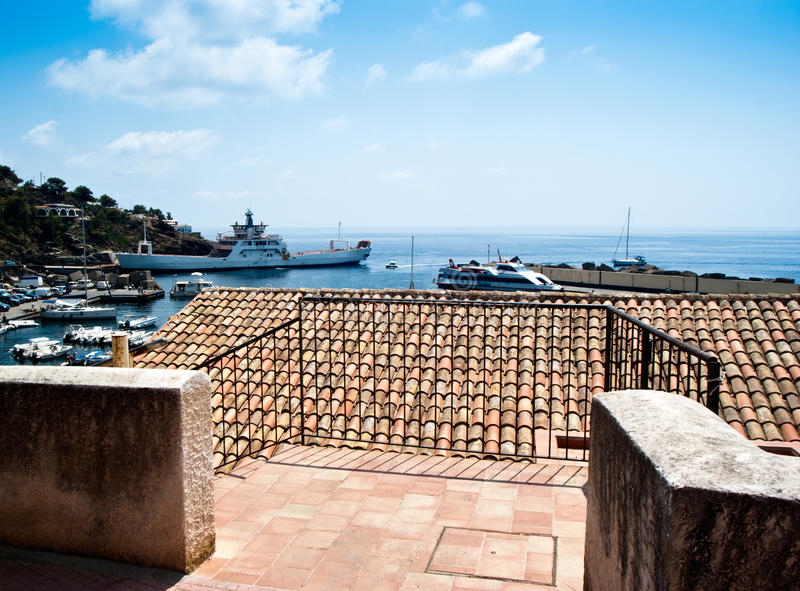 Download Ustica island view. Sicily stock image. Image of italy - 41833137
