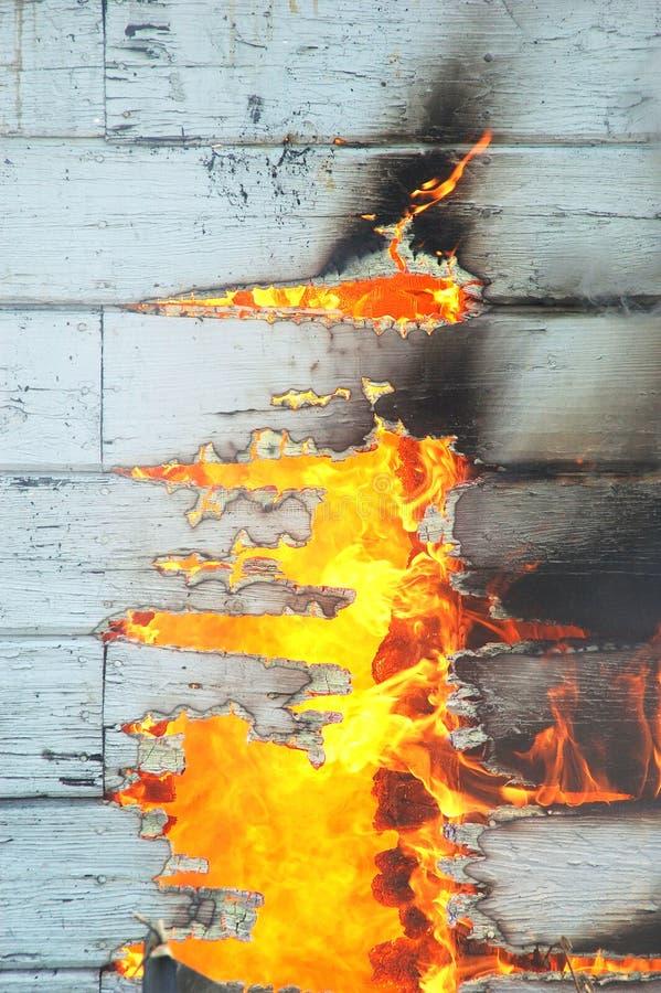 Ustione del fuoco immagine stock