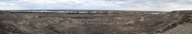 usturt sudochie плато озера стоковые фото
