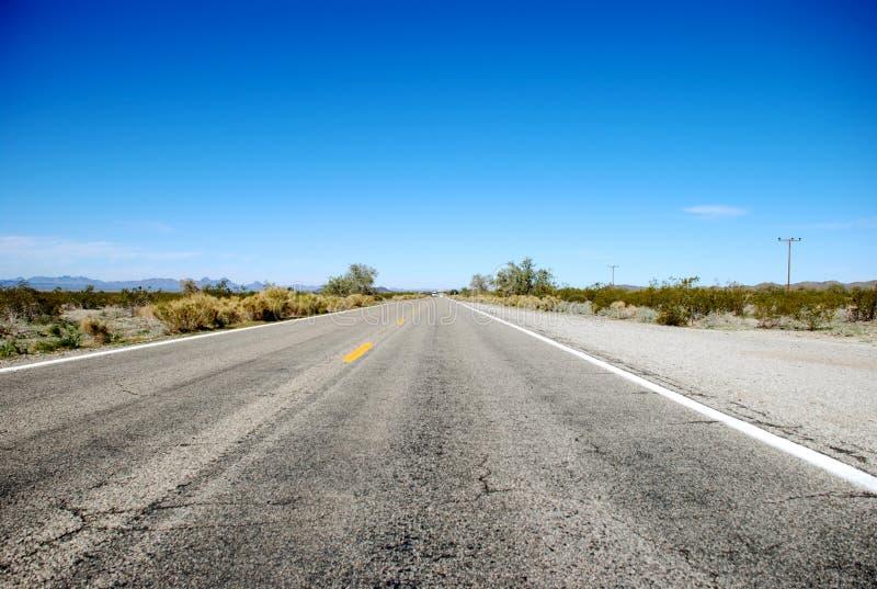Usual Arizona Highway royalty free stock photography
