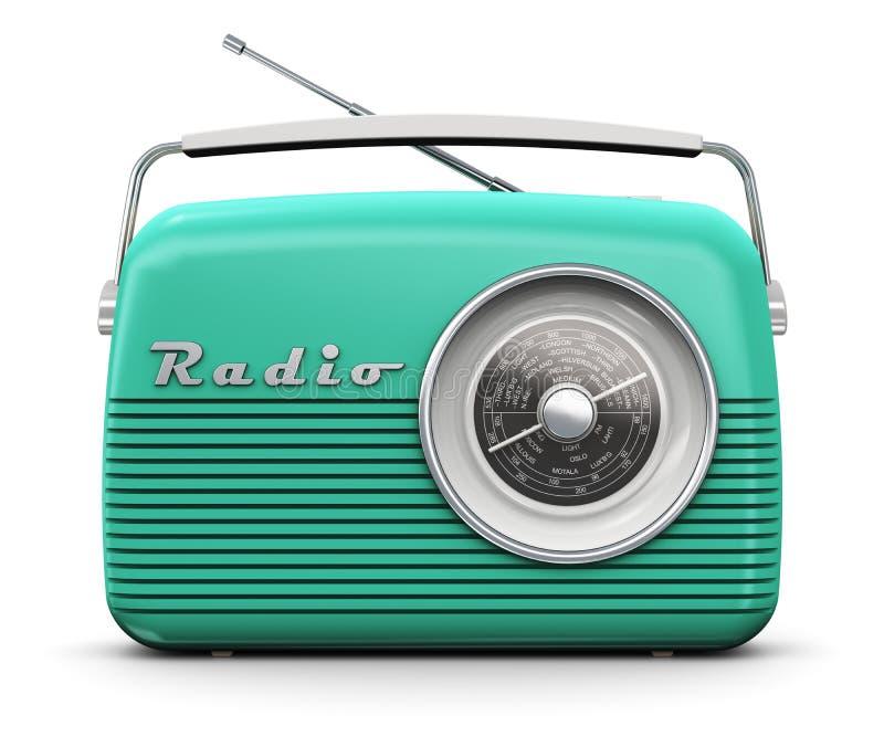 usunąć wszystkie odosobnione radio logo white roczna ilustracja wektor