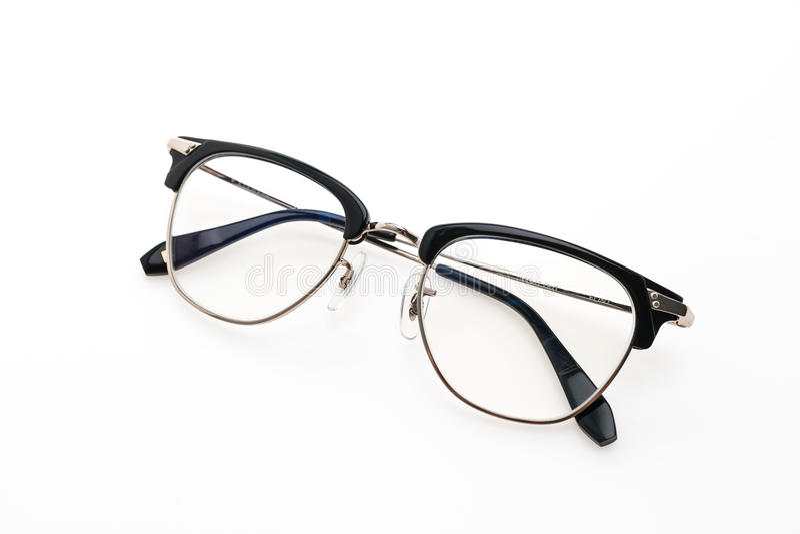 Usura degli occhiali immagine stock libera da diritti