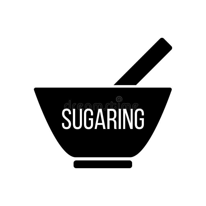 Usuwać niepotrzebnego włosy słodzenie depilacja Epilacyjna cukrowa pasta Epilacja i depilacja Skór zdrowie i opieka ilustracji