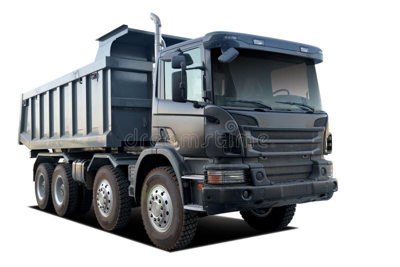 Usyp ciężarówka Odizolowywająca zdjęcia stock