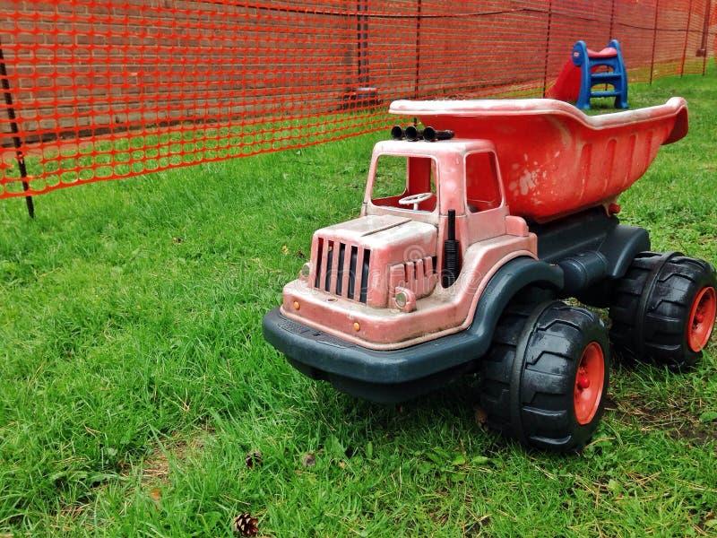 Usyp ciężarówki zabawka fotografia royalty free