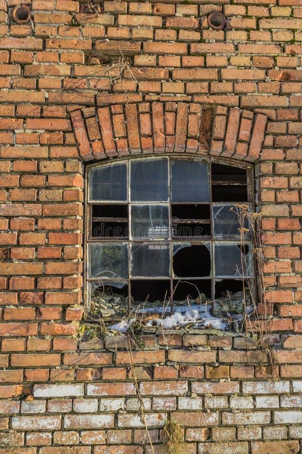 Uszkadzający okno obrazy stock