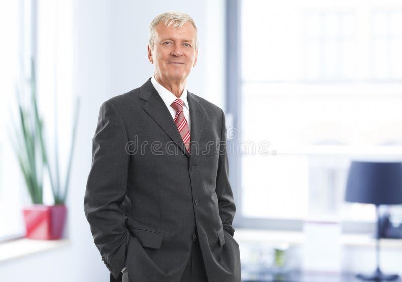 Utövande affärsman royaltyfria foton
