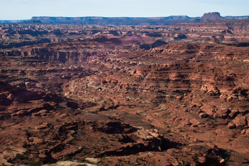 Download UT-Canyonlands National Pk-White Crack Stock Image - Image: 20177465