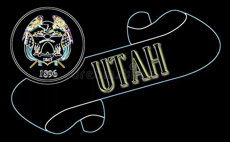Utah ślimacznica ilustracji