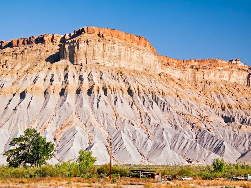 Utah Badlands royalty free stock photos