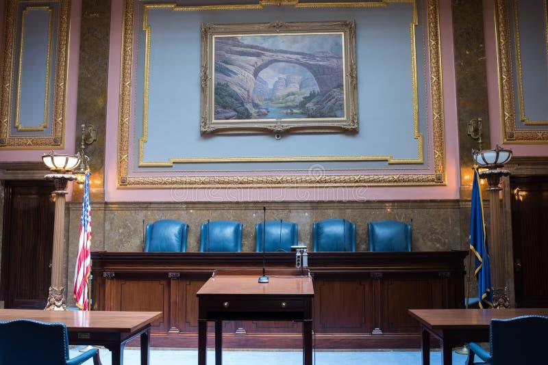 Utah delstatens högsta domstol arkivfoton