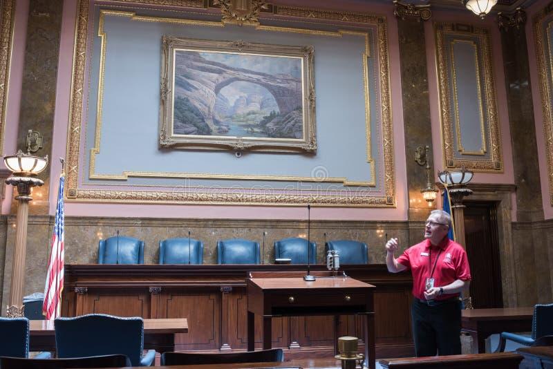 Utah delstatens högsta domstol royaltyfri fotografi